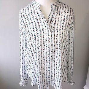 Loft size large blouse
